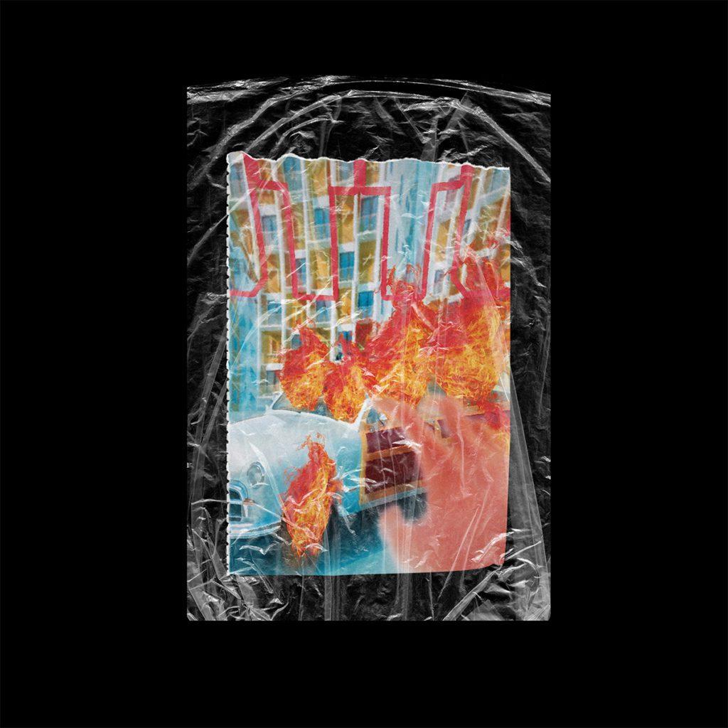 Plastic Wrap Texture Mockup (free) 1