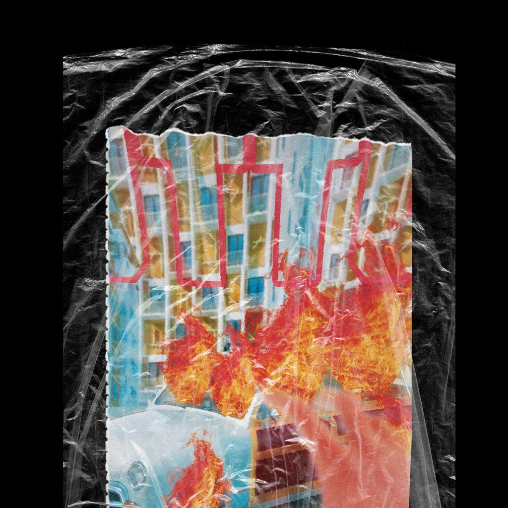 Plastic Wrap Texture Mockup (free) 2