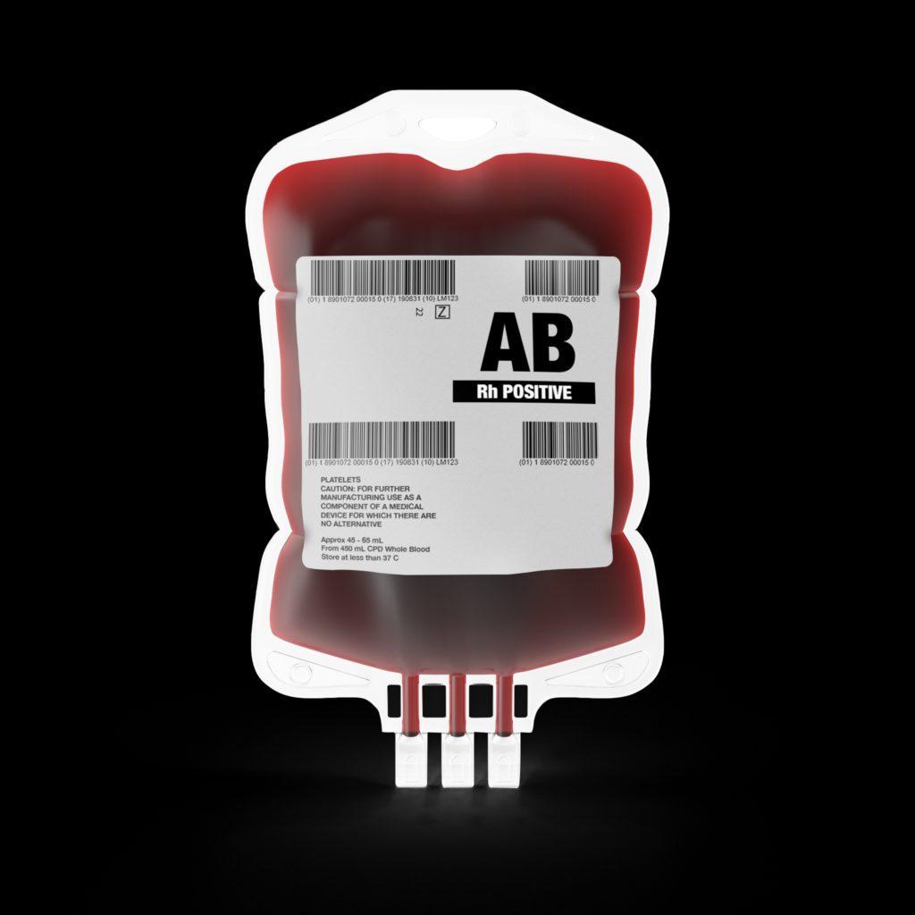 Blood Bag Mockup (free) 1