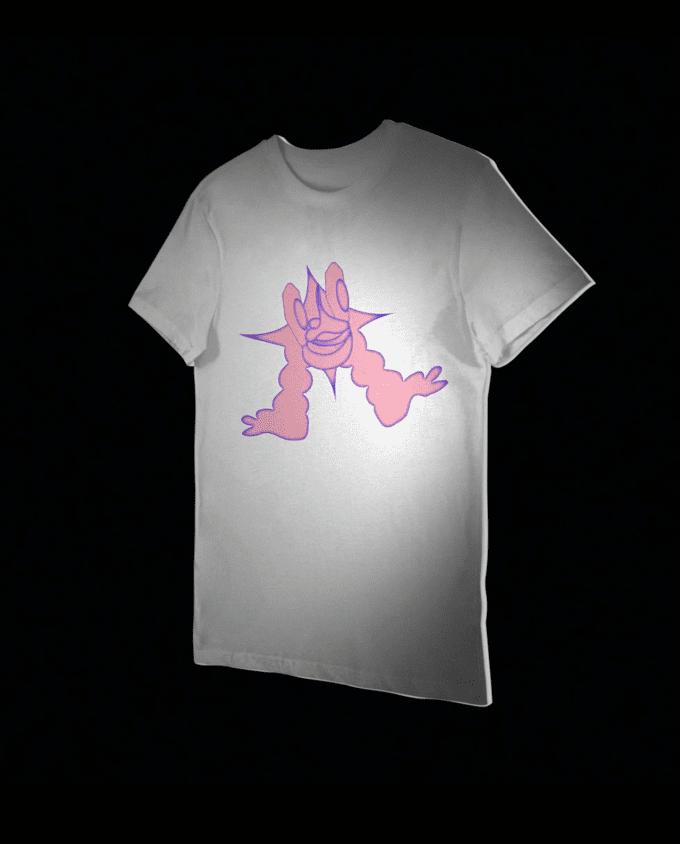Animated T-Shirt Mockup