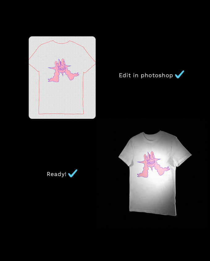 Animated T-Shirt Mockup 3