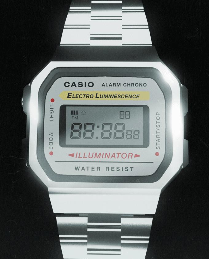 Retro Casio Watch Mockup 2