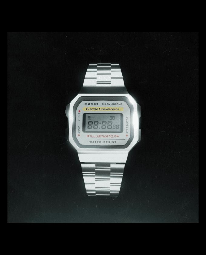 Retro Casio Watch Mockup 1