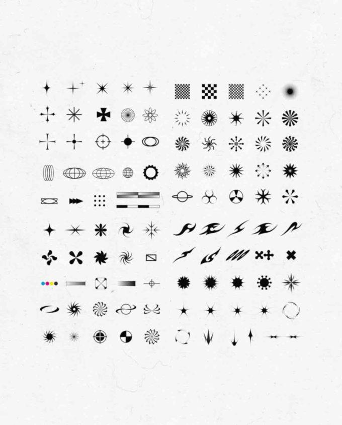 Design Elements Pack: 100 Shapes 2