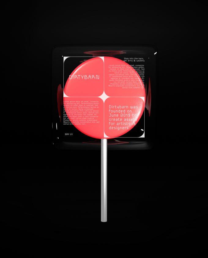 Lollipop Mockup 3