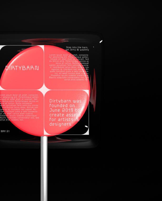 Lollipop Mockup 4