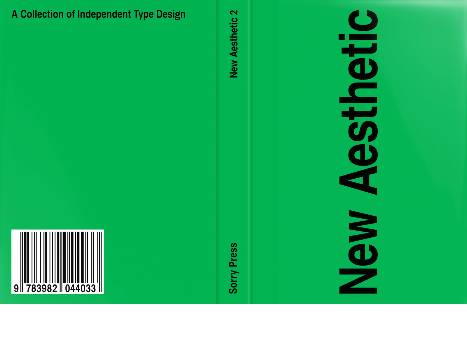 New Aesthetic 2: A Collection of Independent Type Design 6