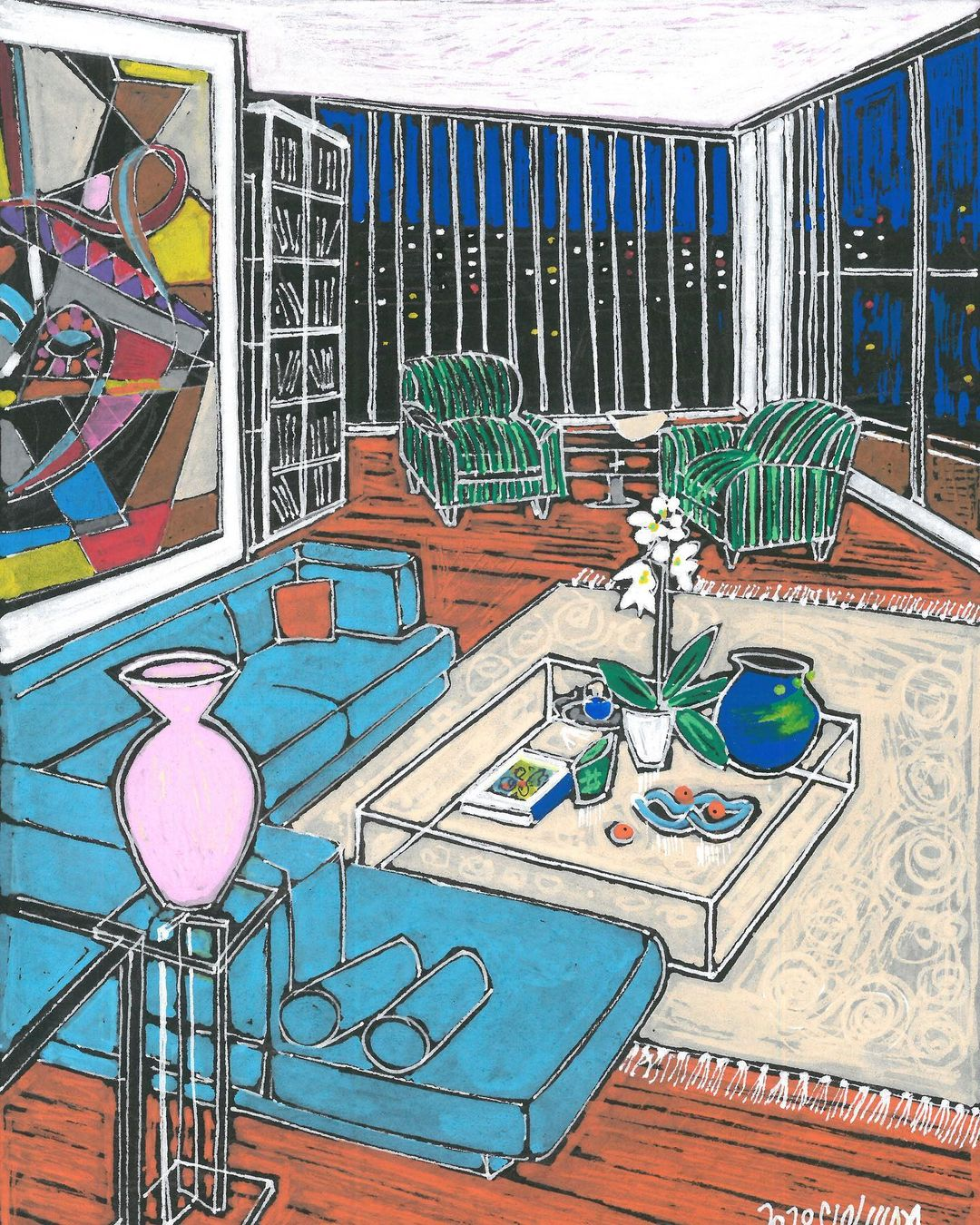 """Maysaloun Faraj Documents This Surreal Times of Pandemic, in """"Home"""" Series 2"""