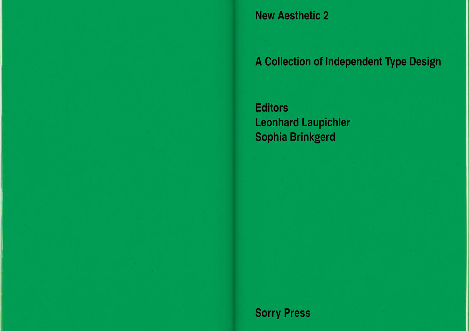 New Aesthetic 2: A Collection of Independent Type Design 7