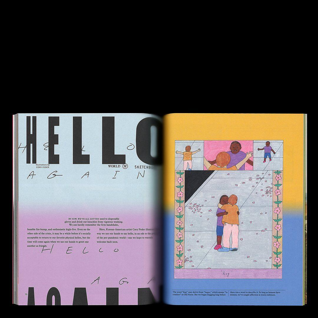 Editorial Design Archives: Chloe Scheffe 13