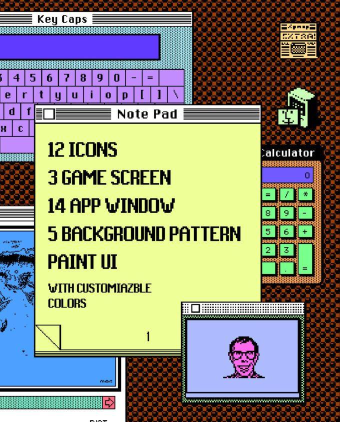 Macintosh UI Elements 1