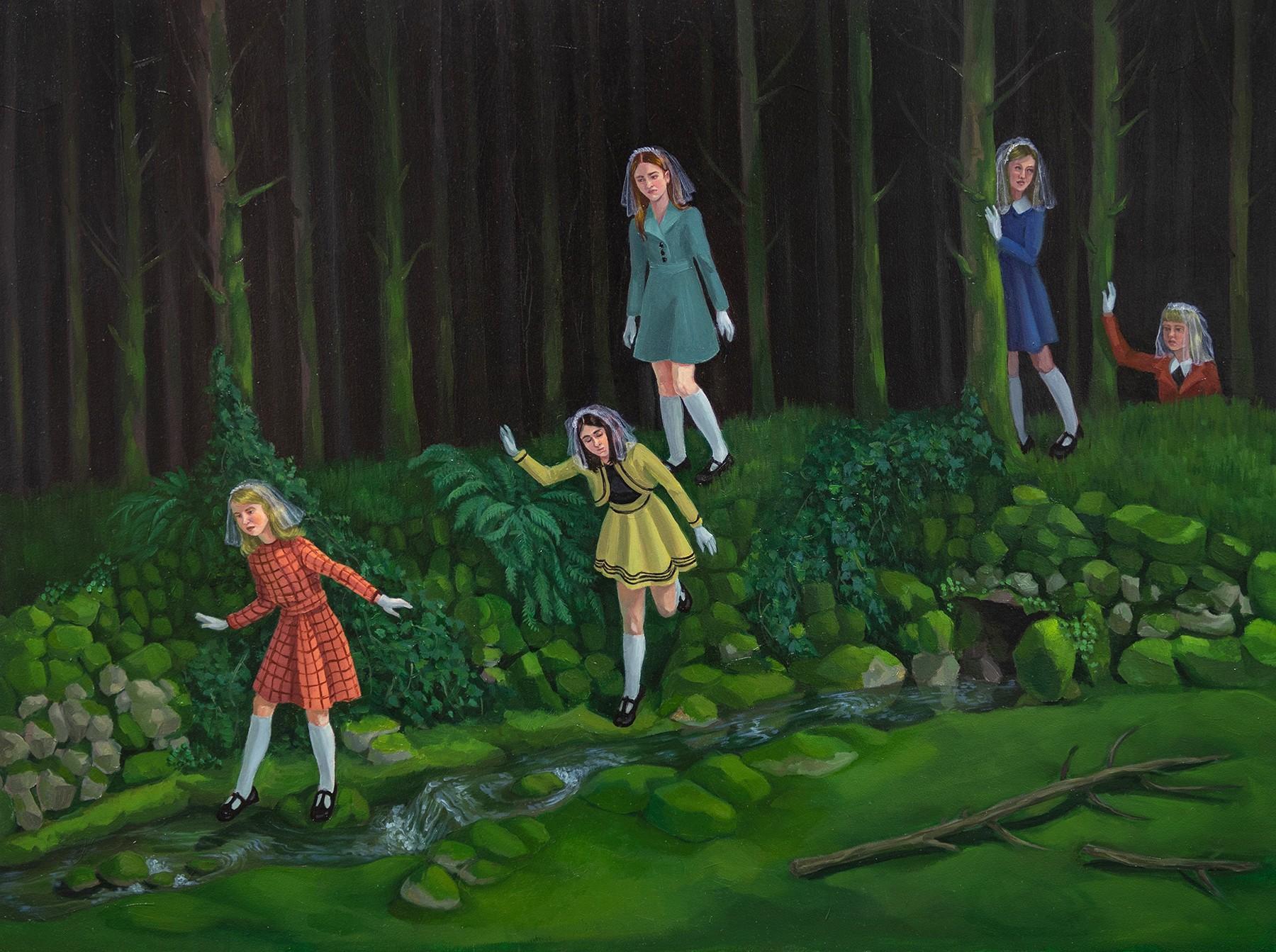 Zoe Hawk's Paintings Celebrate Feminine Identity 4
