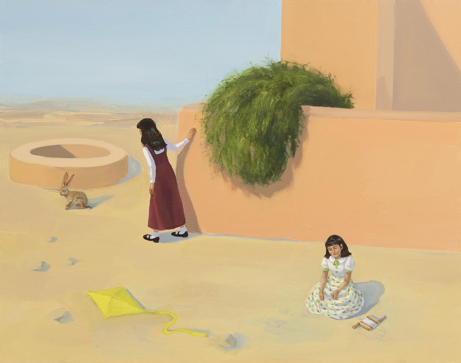 Zoe Hawk's Paintings Celebrate Feminine Identity 7