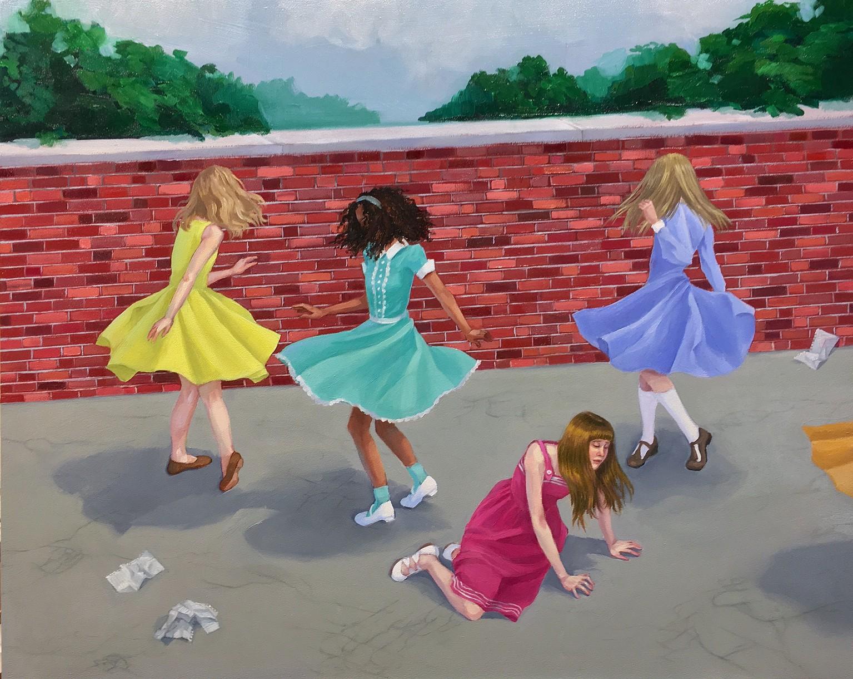 Zoe Hawk's Paintings Celebrate Feminine Identity 6