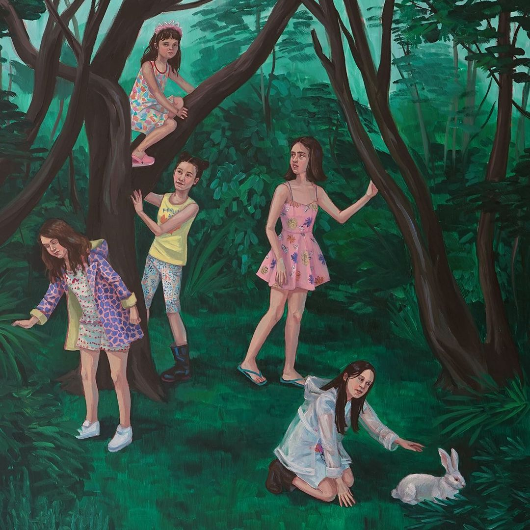 Zoe Hawk's Paintings Celebrate Feminine Identity 2