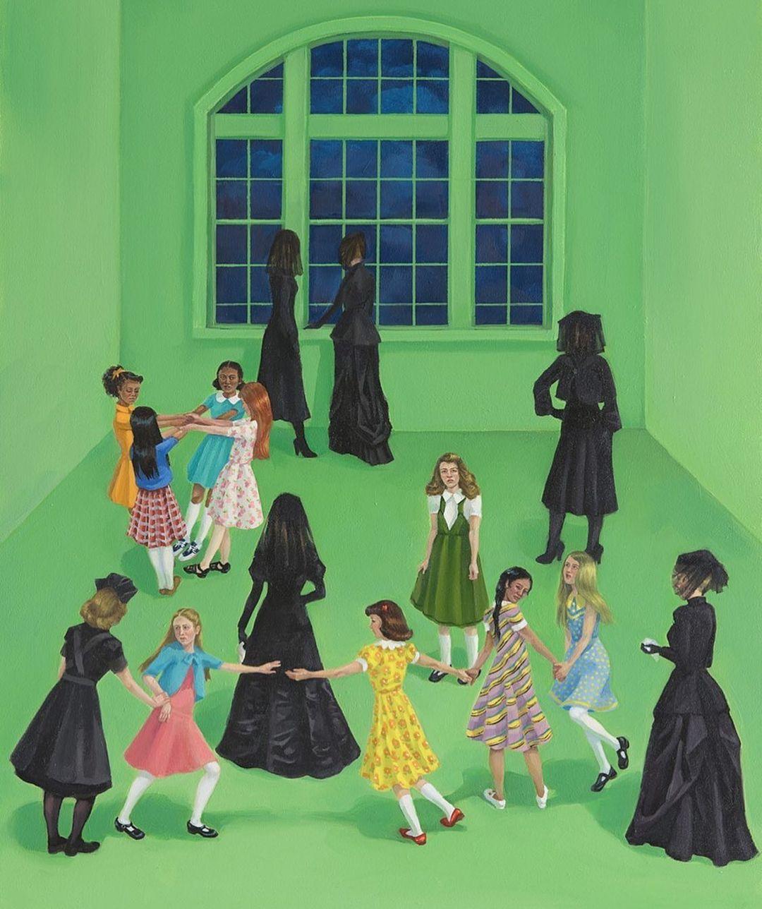 Zoe Hawk's Paintings Celebrate Feminine Identity 17
