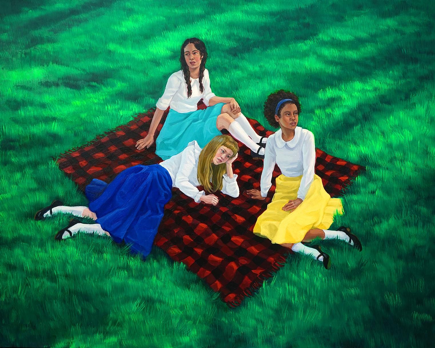 Zoe Hawk's Paintings Celebrate Feminine Identity 8