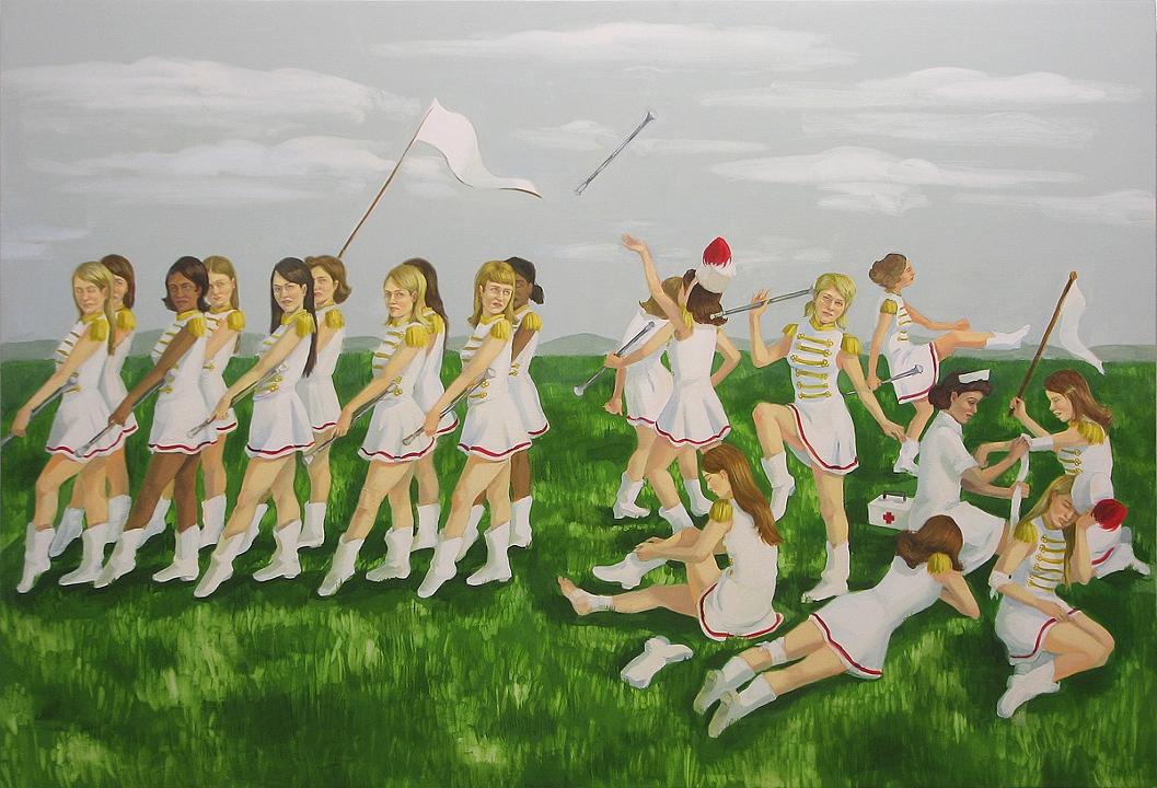 Zoe Hawk's Paintings Celebrate Feminine Identity 11
