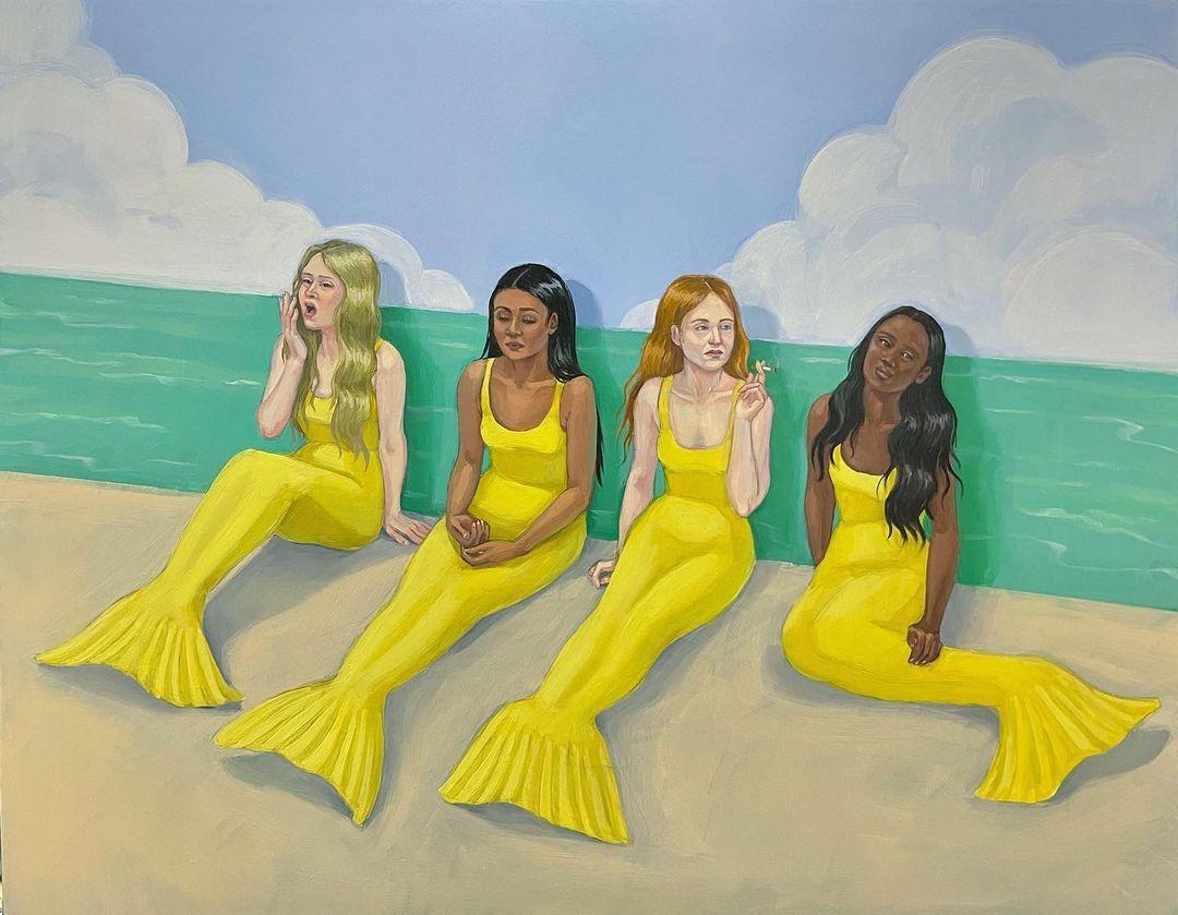 Zoe Hawk's Paintings Celebrate Feminine Identity 21