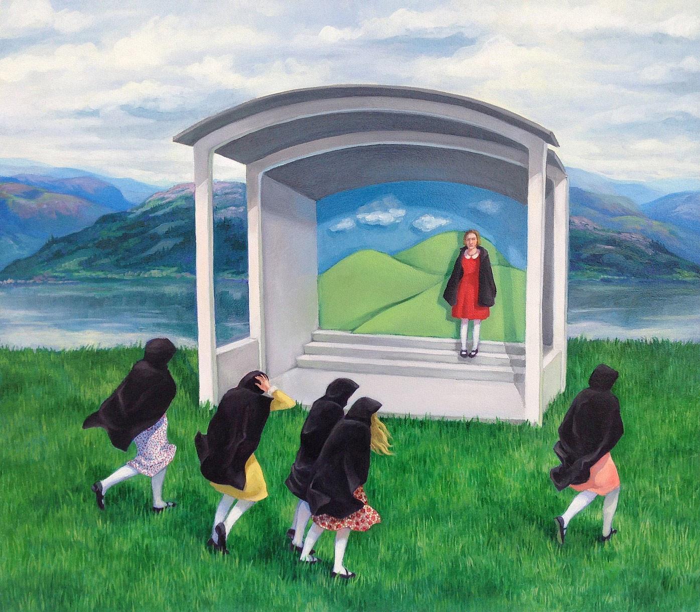 Zoe Hawk's Paintings Celebrate Feminine Identity 15