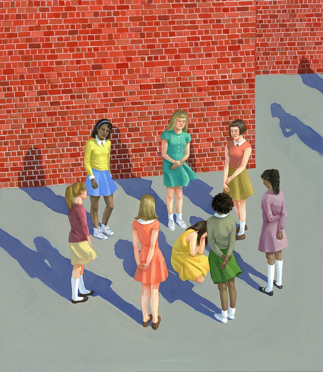 Zoe Hawk's Paintings Celebrate Feminine Identity 16