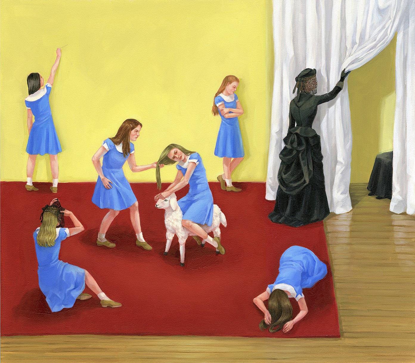 Zoe Hawk's Paintings Celebrate Feminine Identity 14