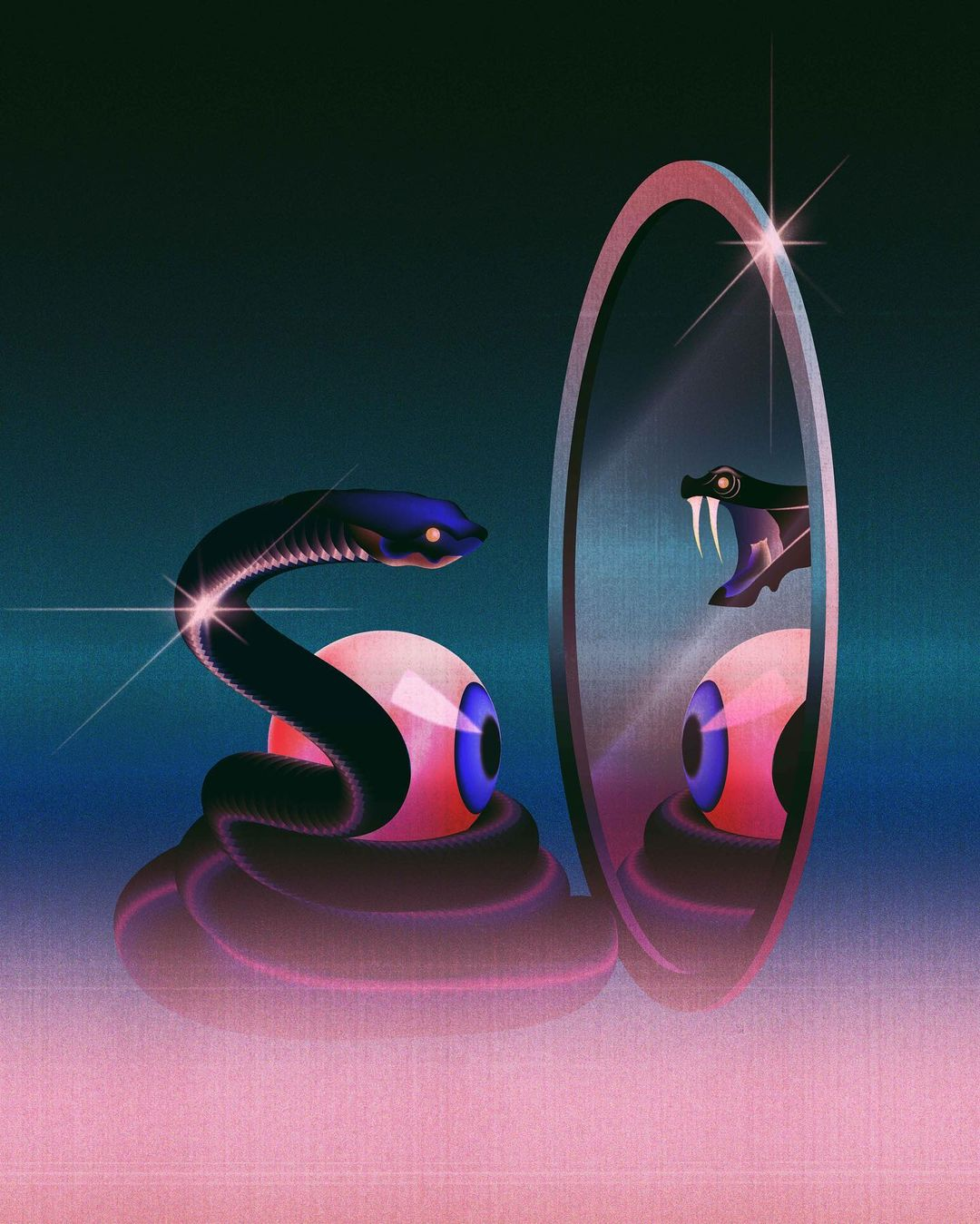 Paulina Almira's Digital Explorations of the Surreal & Ethereal 17