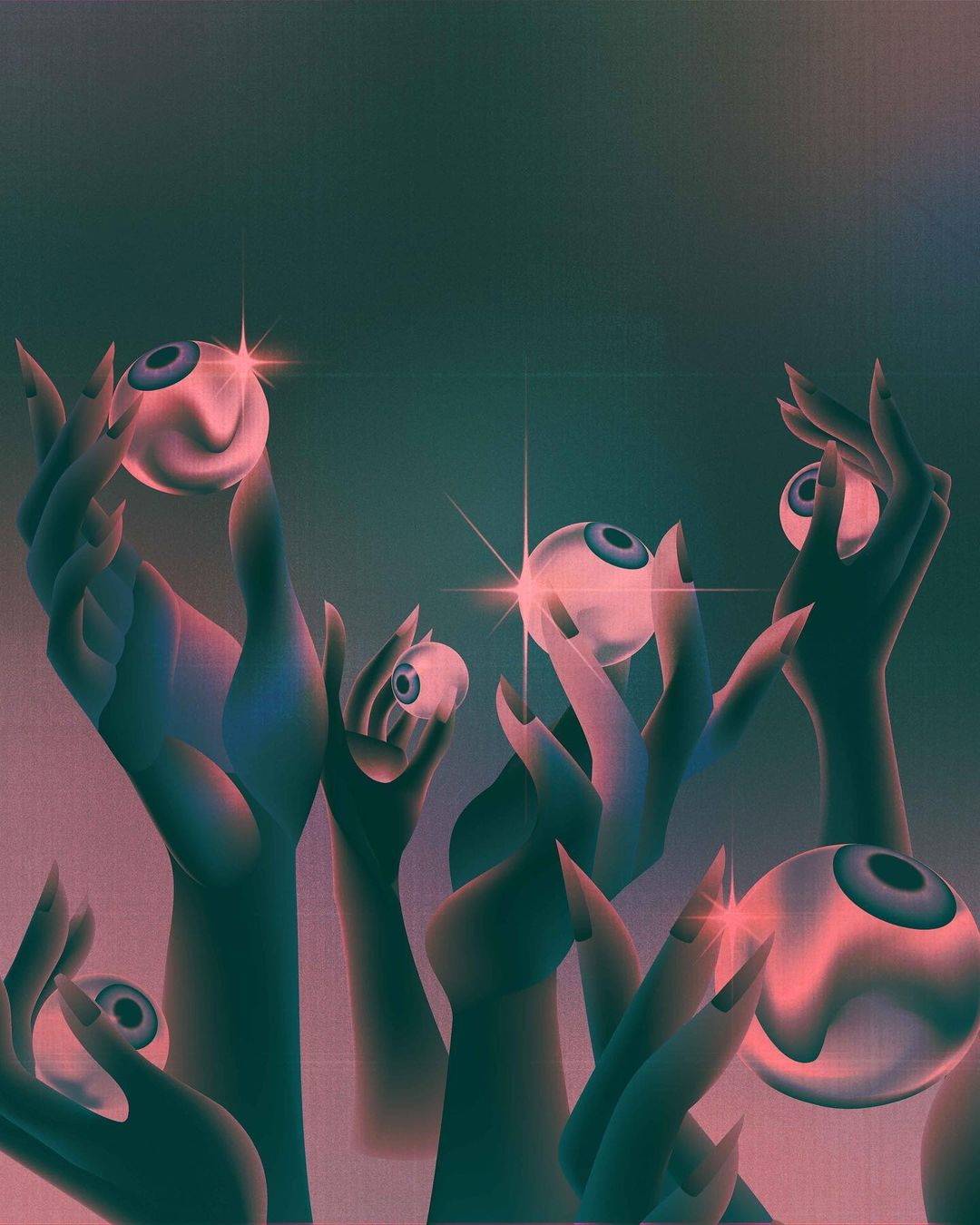 Paulina Almira's Digital Explorations of the Surreal & Ethereal 3