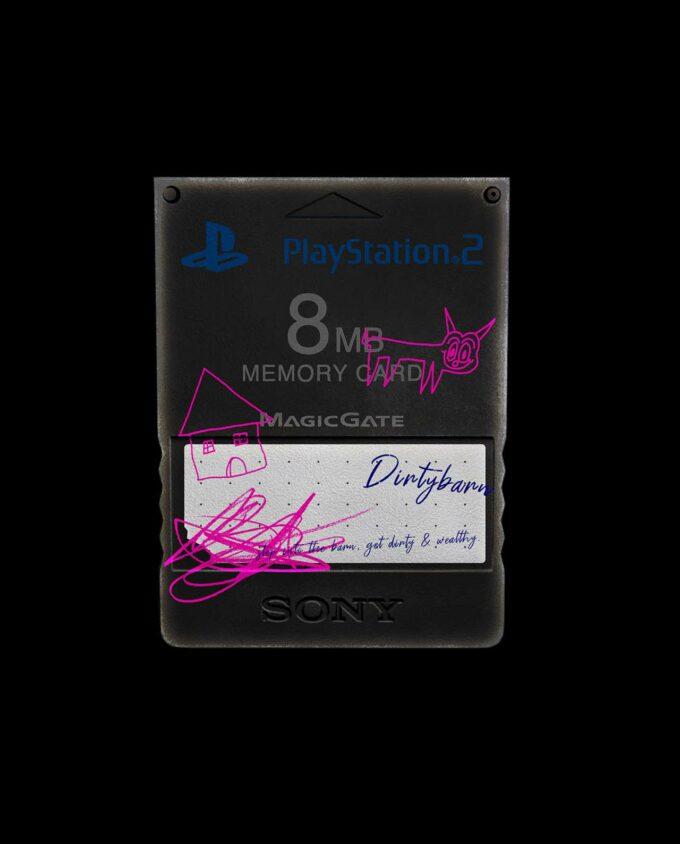 Playstation 2 Memory Card Mockup 1