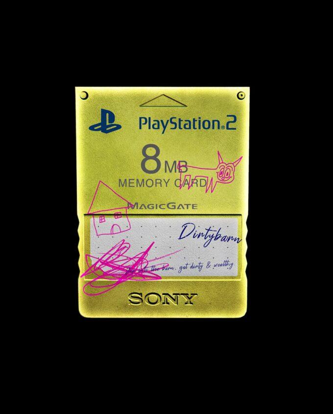 Playstation 2 Memory Card Mockup 4