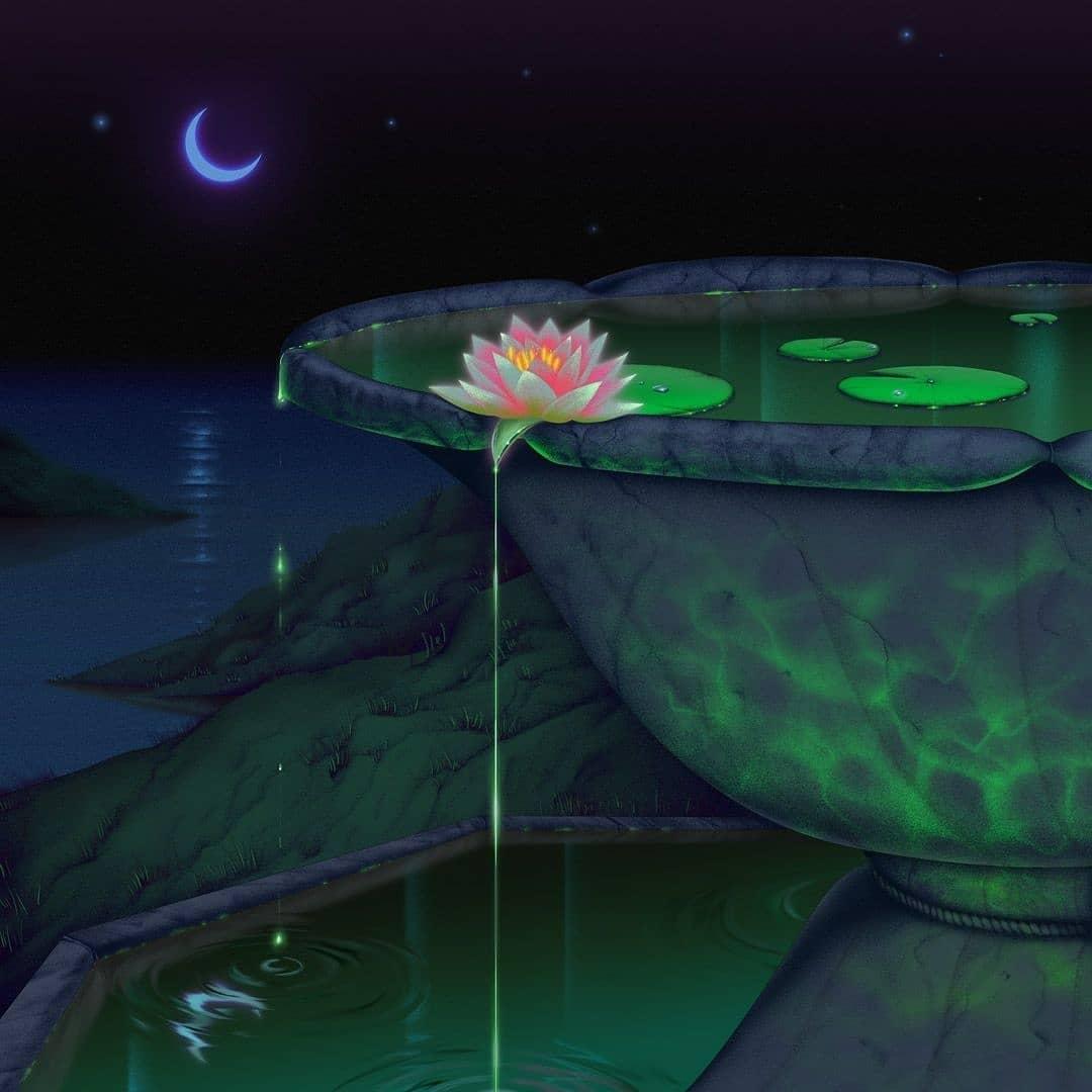 Jiayi Li's Captivating Misty Dreamworld 11