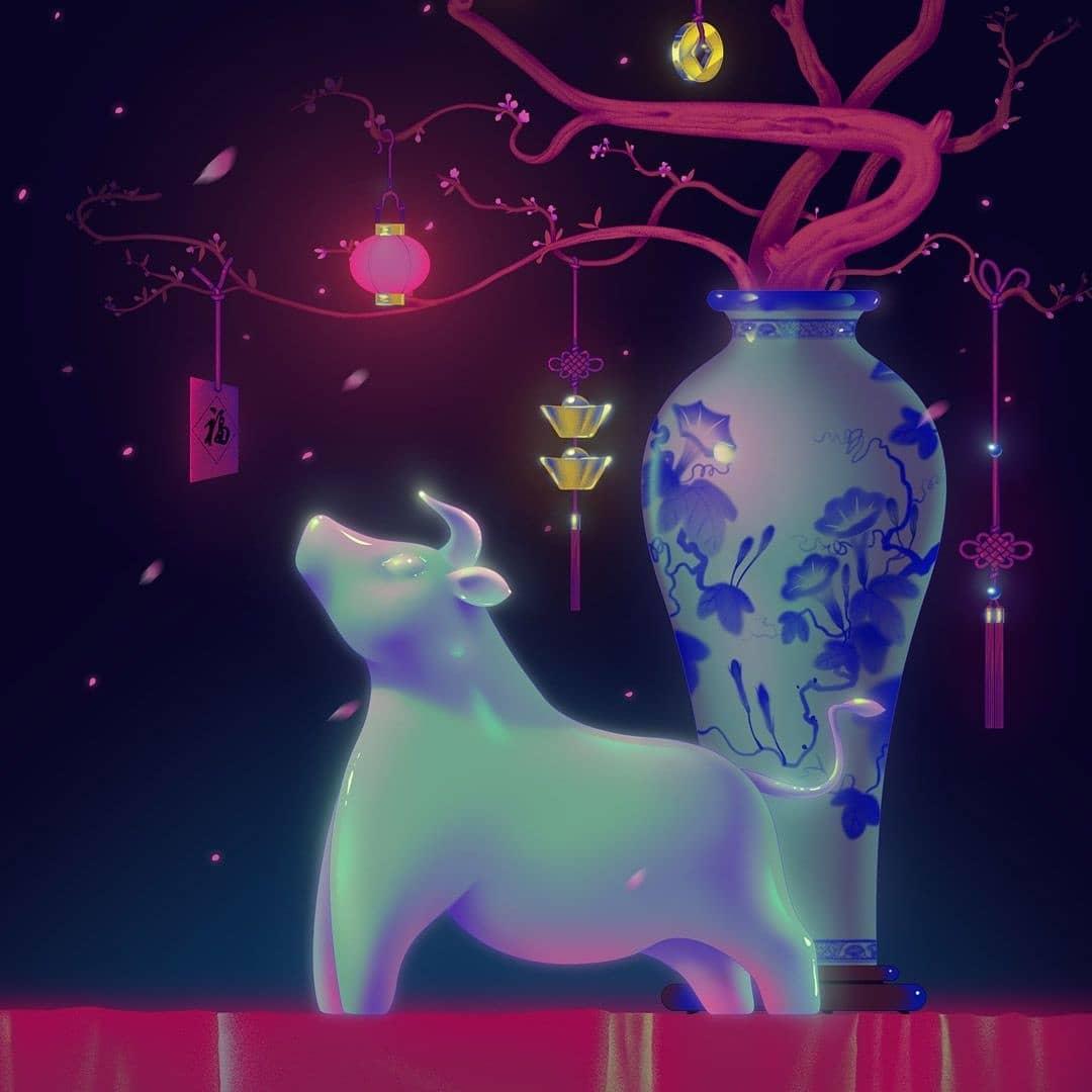 Jiayi Li's Captivating Misty Dreamworld 15
