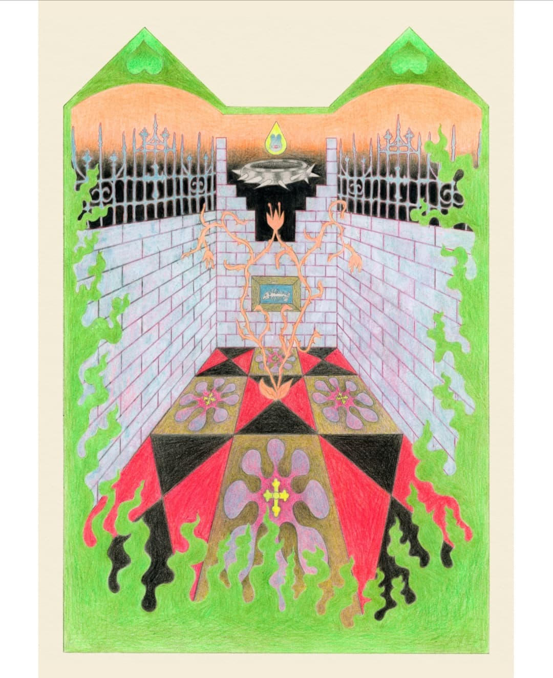 Gitte Maria Möller's Work Infested With Heavy Symbolism 9