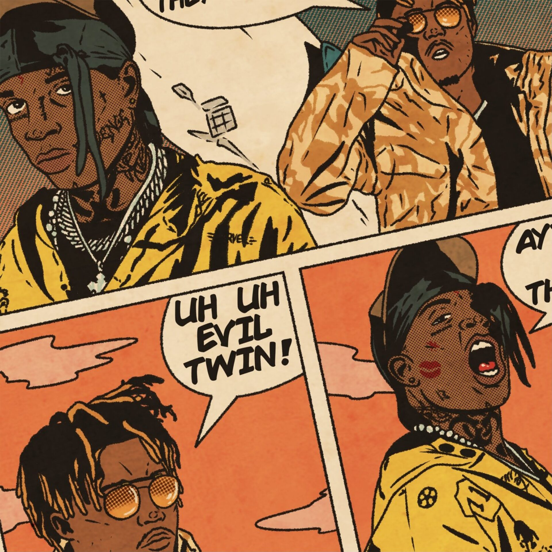 Sesh Monkey Turns Hip-Hop's Iconic Hits Into 12 Pages Comics 11