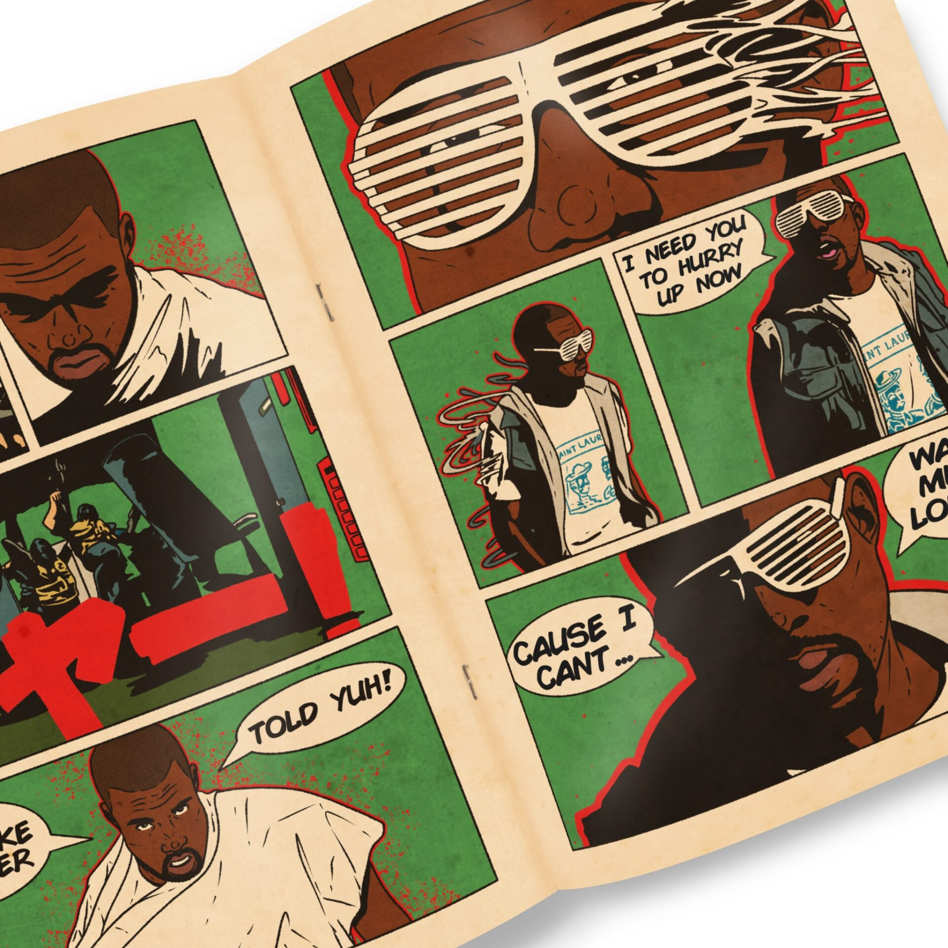 Sesh Monkey Turns Hip-Hop's Iconic Hits Into 12 Pages Comics 17