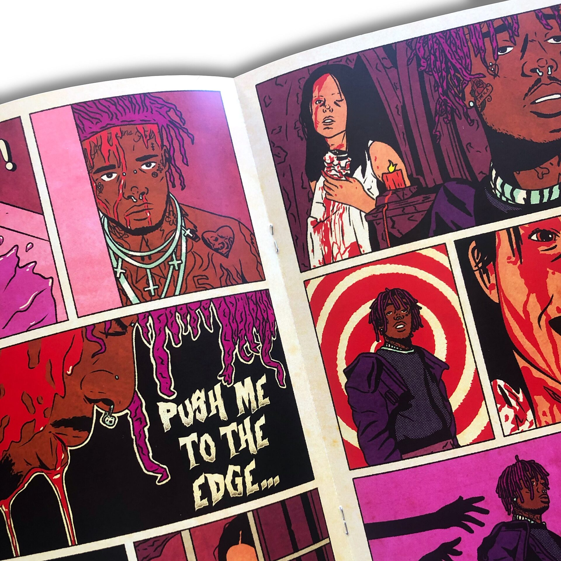 Sesh Monkey Turns Hip-Hop's Iconic Hits Into 12 Pages Comics 5