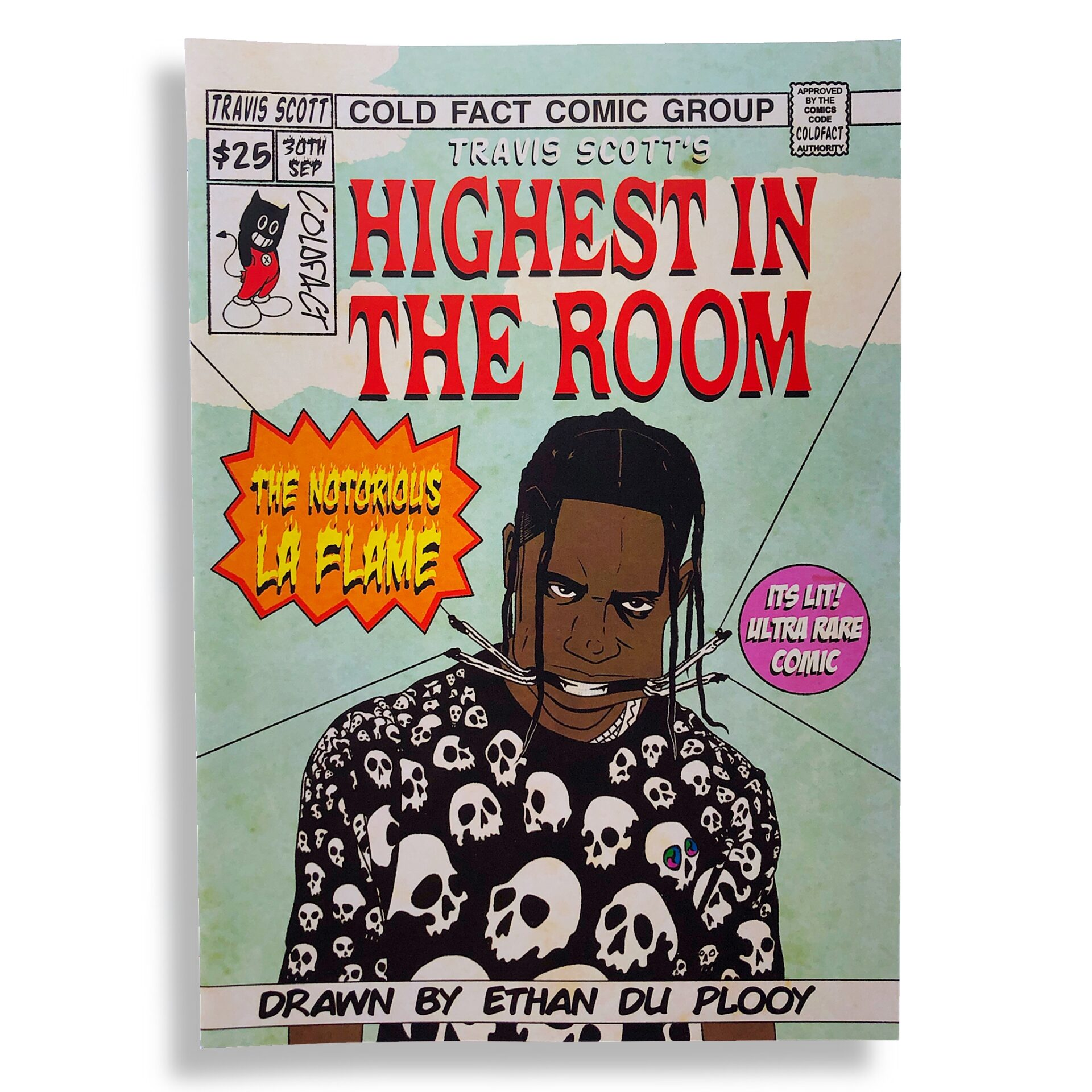 Sesh Monkey Turns Hip-Hop's Iconic Hits Into 12 Pages Comics 6