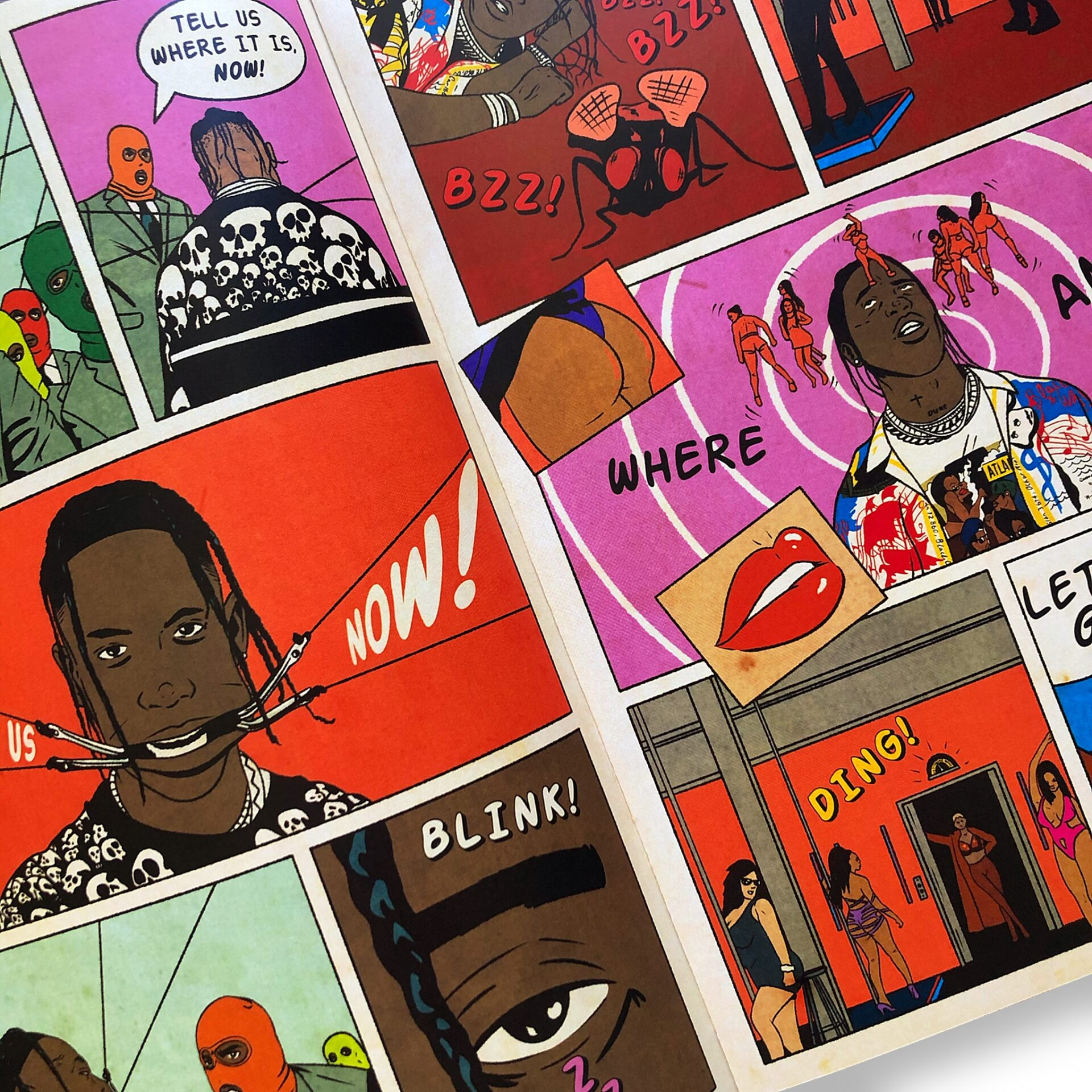 Sesh Monkey Turns Hip-Hop's Iconic Hits Into 12 Pages Comics 7